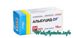 Альбуцид - DF инструкция (глазные капли)