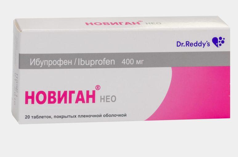 Новиган Нео инструкция по применению (таблетки 400 мг) ️