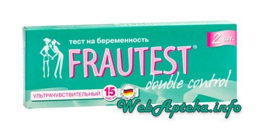 Тест на беременность FRAUTEST инструкция по применению