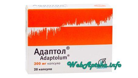 Адаптол инструкция по применению (таблетки)